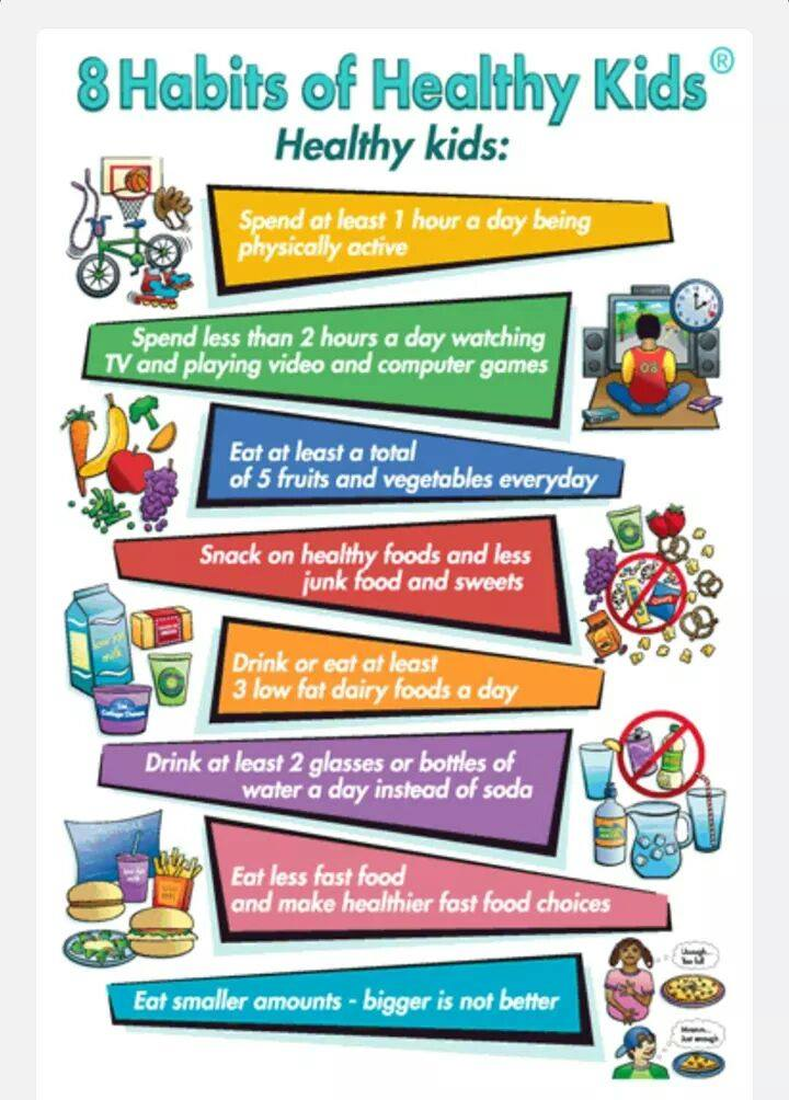 8 Habits Of Healthy Kids Noel School